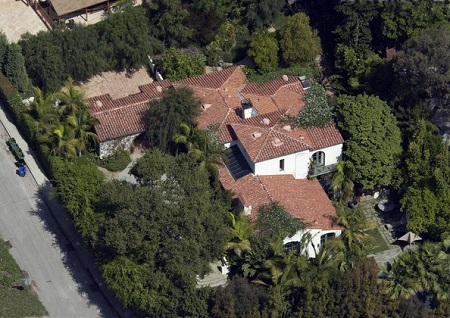 Charlize's Hollywood Hills Mansion